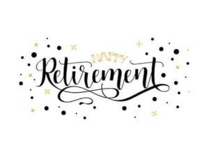 Congratulations Retirees!